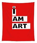 I Am Art Stripes- Design By Linda Woods Tapestry