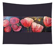I Choose To Live A Life Of Purpose Poppies Tapestry