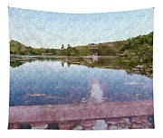I Dreamed Of A Lake Tapestry