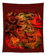 I Hear Voices Tapestry