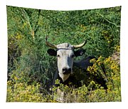 I Picked These For Moo Tapestry