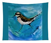I See You Said The Killdeer As She Passed By Tapestry
