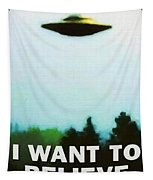 I Want To Believe Tapestry