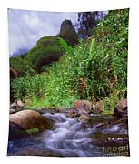 Maui Hawaii Iao Valley State Park Tapestry