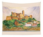 Ibiza Old Town Unesco Site Tapestry