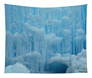Ice Castles In Lincoln New Hampshire -2 Tapestry