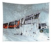 Ice Queen Express Tapestry