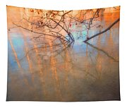 Ice Reflections 2 Tapestry