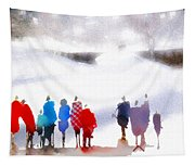 Ice Space Tapestry