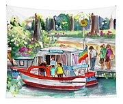 Icecream Boat In York Tapestry