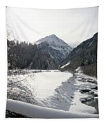 Iced River Tapestry