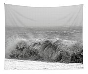 Iceland Black Sand Beach Wave Five Tapestry