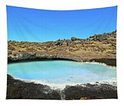 Iceland Blue Lagoon Exploring The Lava Fields Tapestry