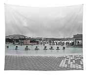 Iceland Blue Lagoon Geothermic Seawater Tapestry