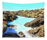 Iceland Blue Lagoon Healing Waters Tapestry