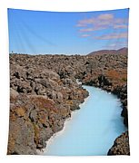 Iceland Tranquil Blue Lagoon  Tapestry