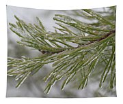 Icy Fingers Of The Pine Tapestry