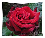 Icy Rose Tapestry