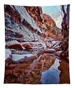 Icy Stillness Tapestry