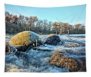 Icy Waters 2 Tapestry