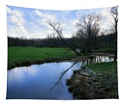 Idyllic Creek Tapestry