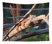Igauna On A Stick Tapestry