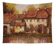 Il Borgo Rosso Tapestry
