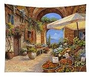 Il Mercato Del Lago Tapestry