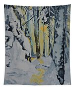 Illuminated Wilderness Tapestry