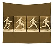 Image Sequence From Animal Locomotion Series Tapestry