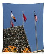 Imposing Flags Tapestry