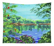 Impressionistic Landscape Xx Tapestry