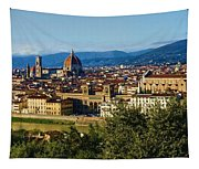 Impressions Of Florence - A View From The Top Tapestry