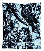 In Blue Nautilus  Tapestry