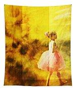 In My Pink Tutu Tapestry