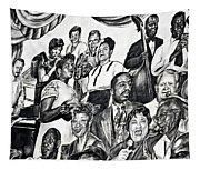 In Praise Of Jazz IIi Tapestry