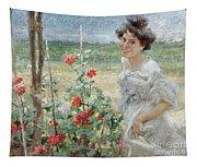 In The Flower Garden, 1899 Tapestry