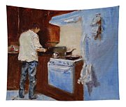 In The Kitchen Tapestry