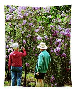 In The Lilac Garden Tapestry