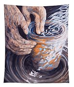In The Potter's Hands Tapestry