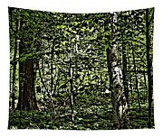 In The Woods Wc Tapestry