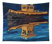 Incognito Tug Tapestry