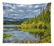 Incoming Storm At Twin Lakes Tapestry