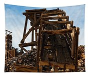 Independence Gold Mine Ruins Tapestry