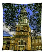 Independence Hall-philadelphia Tapestry