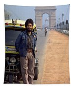 India Gate Tapestry