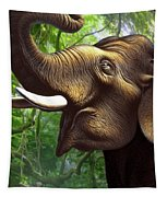 Indian Elephant 1 Tapestry