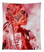 Indian Red Tapestry
