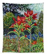 Indian Spring Tapestry