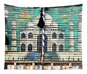 Indian Truck Art 3 - Taj Mahal Tapestry